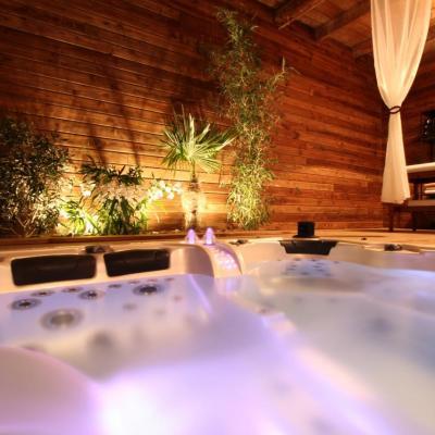 Le spa, un soir d'été