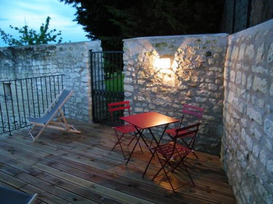 La terrasse, un soir d'été