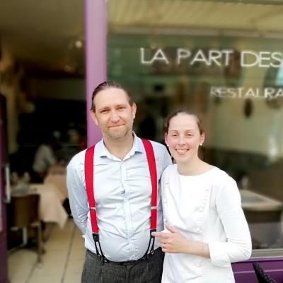 Virginie et herve the not gourmetsco La part des Anges
